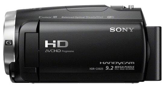 Sony HDR-CX625, Black цифровая видеокамера
