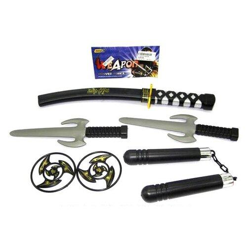 Купить Набор Shantou Gepai Ниндзя (88598), Игрушечное оружие и бластеры