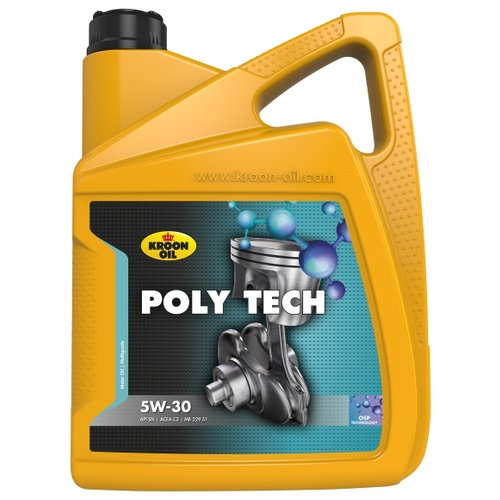 Моторное масло Kroon Oil Poly Tech 5W-30 5 л