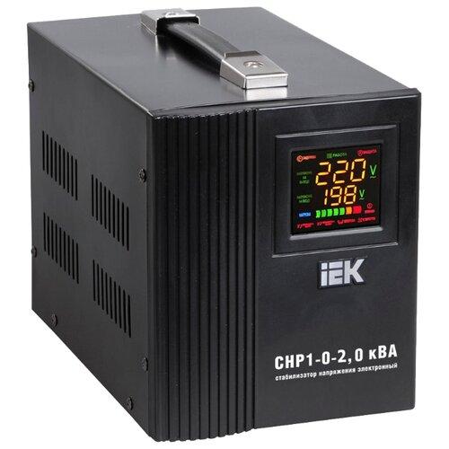 Стабилизатор напряжения однофазный IEK Home СНР1-0-2 кВА