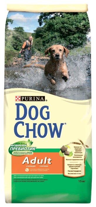 Корм для собак DOG CHOW Adult с курицей для взрослых собак