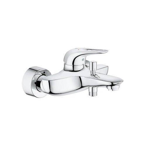 Смеситель для ванны с подключением душа Grohe Eurostyle 33591003 однорычажный смеситель для ванны с подключением душа grohe bauclassic 32865000 однорычажный