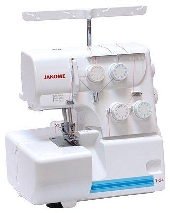 Janome Оверлок Janome T-34