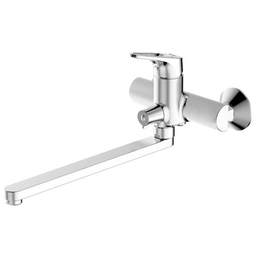 Смеситель универсальный Bravat Drop-D F648162C-01A однорычажный хром смеситель для ванны bravat drop d f648162c b rus