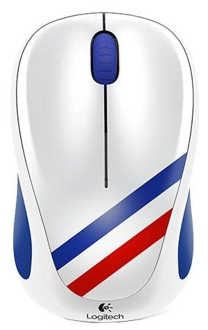 Мышь Logitech Wireless Mouse M235 910-004032 Blue-White-Red USB