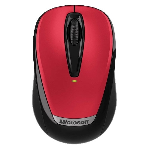 Мышь Microsoft Wireless Mobile Mouse 3000v2 Hibiscus Red USB