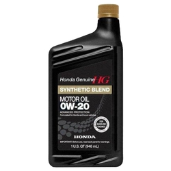 Моторное масло Honda Synthetic Blend 0W20 SN 0.946 л