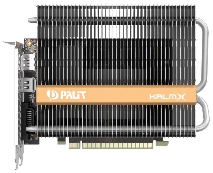 Palit Видеокарта Palit GeForce GTX 1050 Ti 1290Mhz PCI-E 3.0 4096Mb 7000Mhz 128 bit DVI HDMI HDCP KalmX