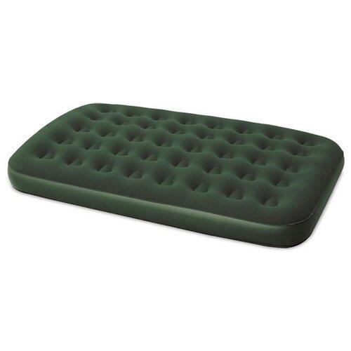 Надувной матрас Bestway Flocked Air Bed 67448 зеленый