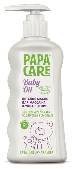 Papa Care Детское масло для массажа и увлажнения кожи