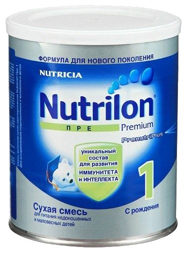 Смесь Nutrilon (Nutricia) Пре 1 (с рождения) 400 г