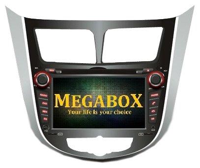 Megabox Hyundai Solaris CE6511