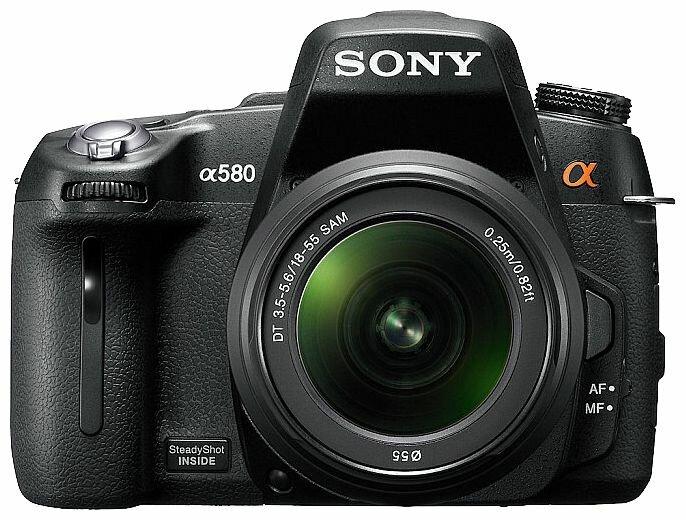 Sony Зеркальный фотоаппарат Sony Alpha DSLR-A580 Kit