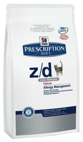 Hill's Prescription Diet Z/D Feline Low Allergen dry (2 кг)
