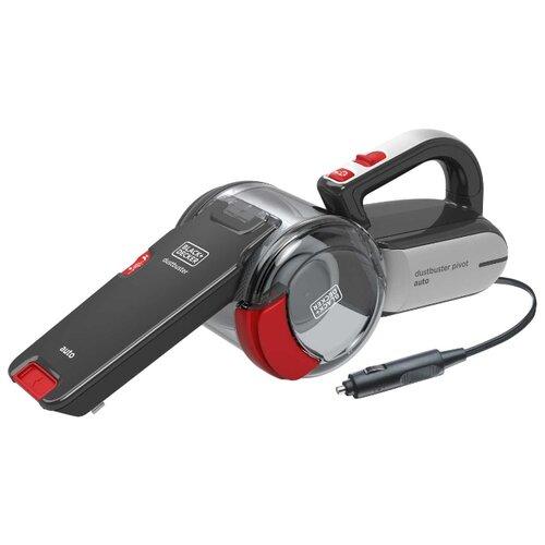Пылесос автомобильный BLACK+DECKER PV1200AV серый/красный