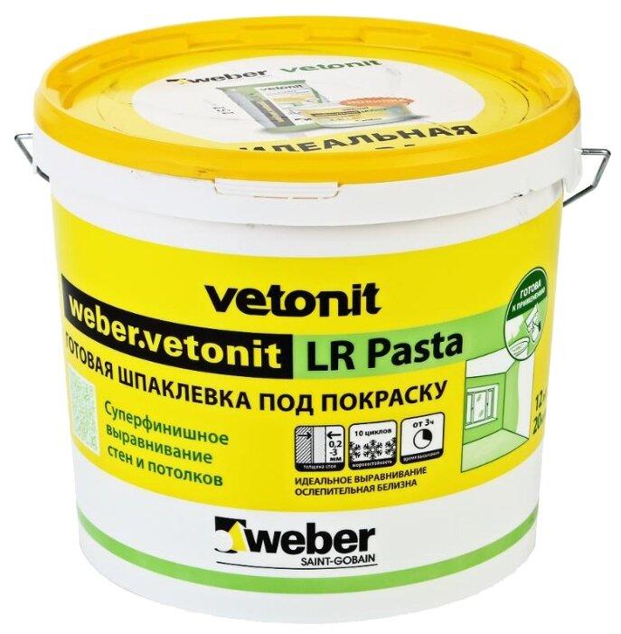 Шпатлевка Weber LR Pasta
