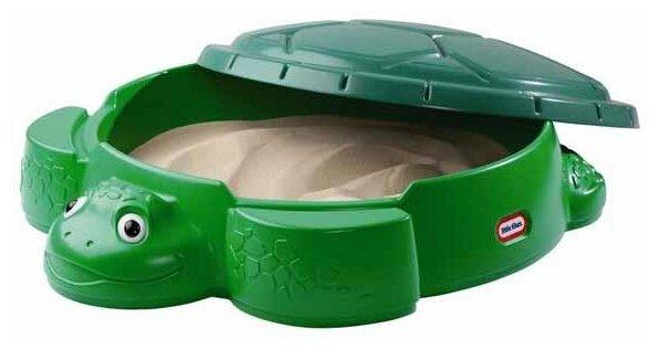 Песочница-бассейн Little Tikes Черепаха с крышкой