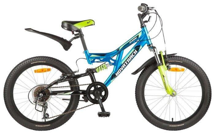 Подростковый велосипед Novatrack Shark 20 6 (2017)