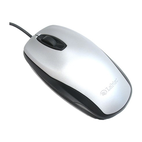Мышь Labtec Optical Mouse 800 Silver-Black PS/2