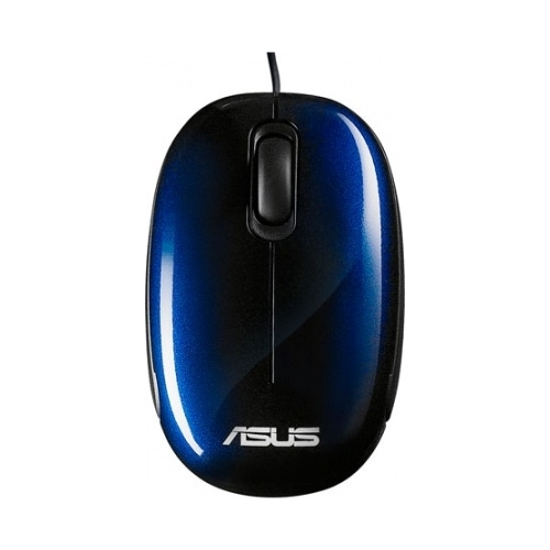 Мышь ASUS Seashell Optical Mouse V2 Blue USB