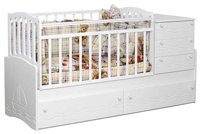 Кроватка Daka Baby Укачай-ка 4 (трансформер)
