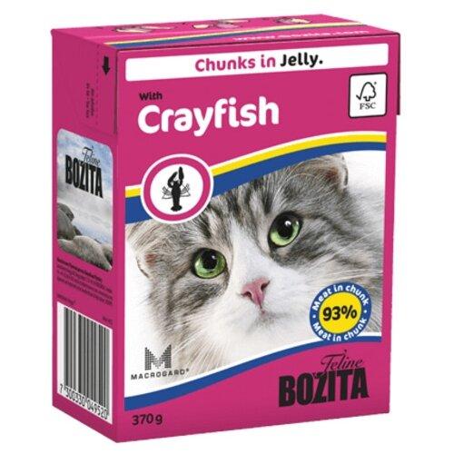Корм для кошек Bozita с лангустом 370 г (кусочки в желе)Корма для кошек<br>