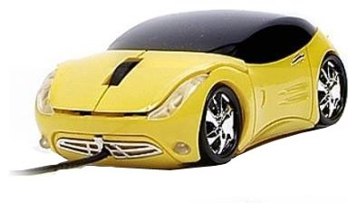 Мышь 3Cott Kart Mice III Yellow USB