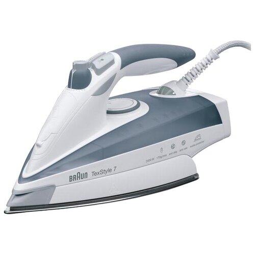 Утюг Braun TexStyle 7 TS775TP белый/серый