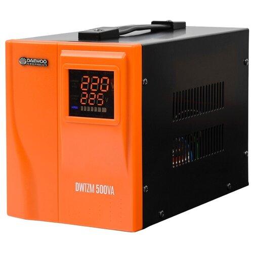 Стабилизатор напряжения однофазный Daewoo Power Products DW-TZM500VA стабилизатор напряжения daewoo dw tm2kva