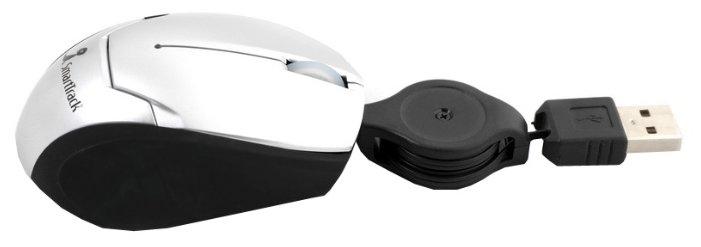 Мышь SmartBuy SBM-302-SK Silver-Black USB