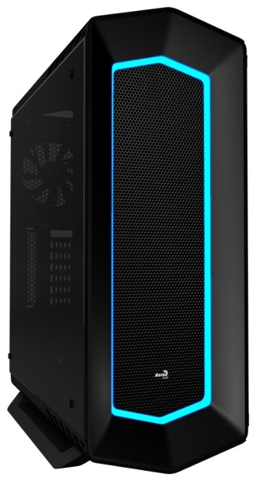 AeroCool P7-C1 Tempered Glass Black