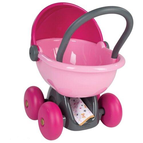Купить Коляска-люлька Smoby 220312 (в ассортименте) розовый, Коляски для кукол