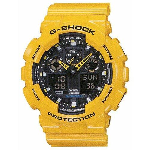 Наручные часы CASIO GA-100A-9A casio ga 100gd 9a