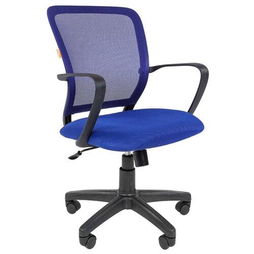 Компьютерное кресло Chairman 698 офисное, обивка: текстиль, цвет: black/TW-05 цена 2017