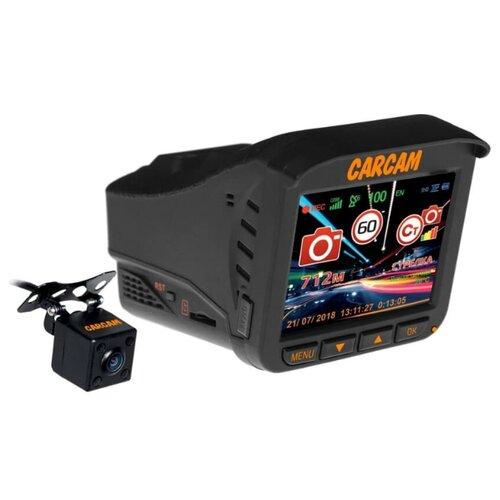 Видеорегистратор с радар-детектором CARCAM COMBO 5S черныйВидеорегистраторы<br>