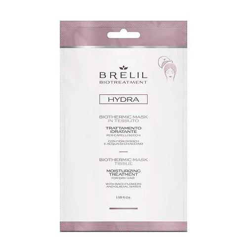 Фото - Brelil Professional BioTraitement Hydra Маска для волос увлажняющая Biothermic, 35 мл brelil professional маска biotraitement colour для окрашенных волос 220 мл