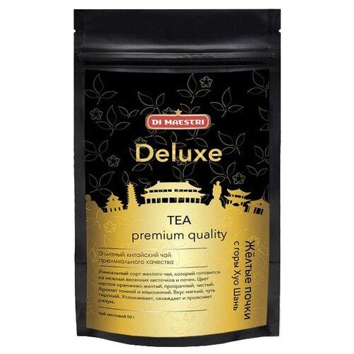Чай желтый Di Maestri Deluxe Желтые почки с горы Хуо Шань , 50 г