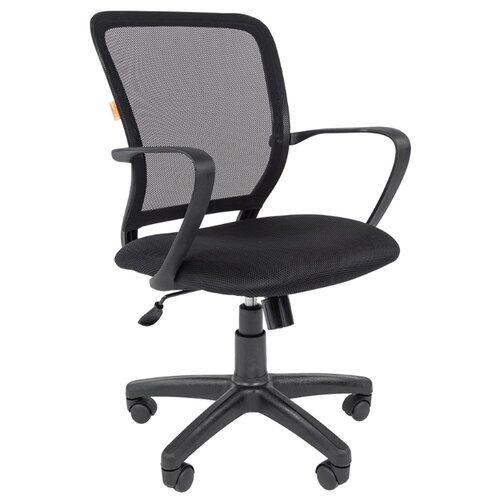 Компьютерное кресло Chairman 698, обивка: текстиль, цвет: black/TW-01