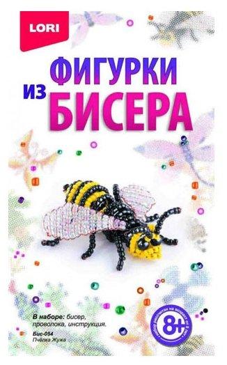 """Lori"" Набор ""Плетение из бусин. Игрушки"" Кот Маркиз Бус-029"