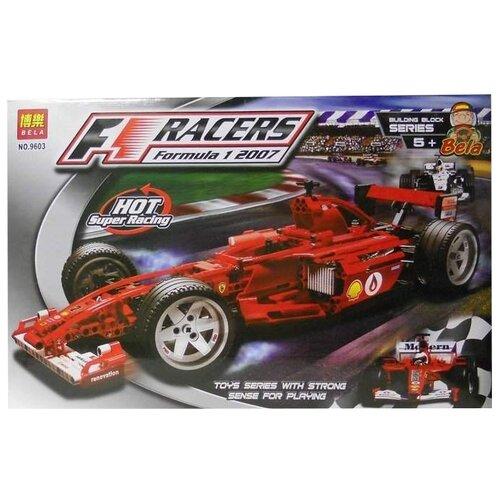 цена на Электромеханический конструктор BELA (Lari) Racers 9603 Формула 1: Феррари