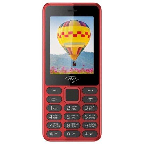 Телефон Itel it5022 красный телефон