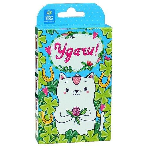 Набор для выращивания Happy Plant Живая открытка Удачи! (Котик) недорого