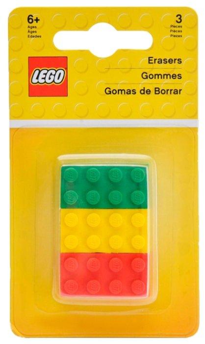 LEGO Набор ластиков 3 шт.