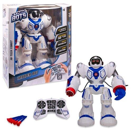 Купить Интерактивная игрушка робот Xtrem Bots Штурмовик XT30039 белый/синий/красный, Роботы и трансформеры