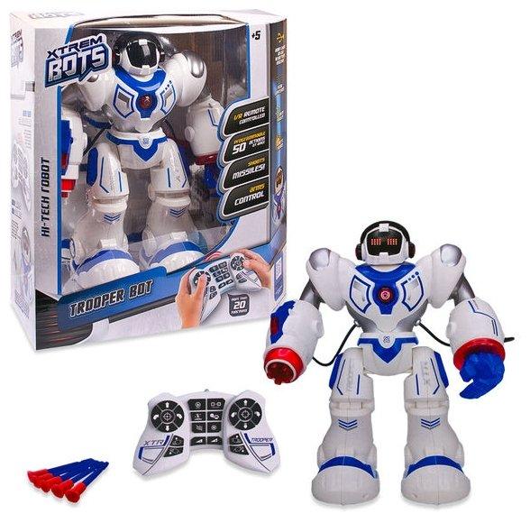 Интерактивная игрушка робот Longshore Xtrem Bots Штурмовик XT30039