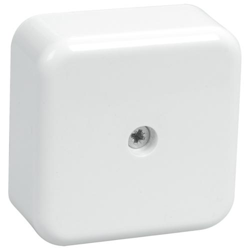 Распределительная коробка IEK КМ41206 наружный монтаж 50x50 мм белый
