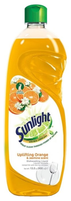 Sunlight Средство для мытья посуды Uplifting orange & jasmine
