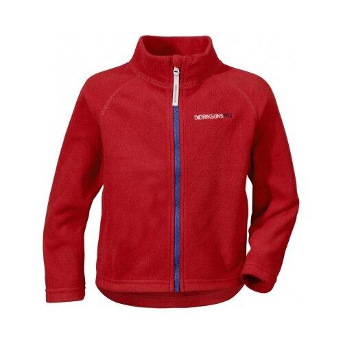 Толстовка Didriksons Monte 501359, размер 100, красный