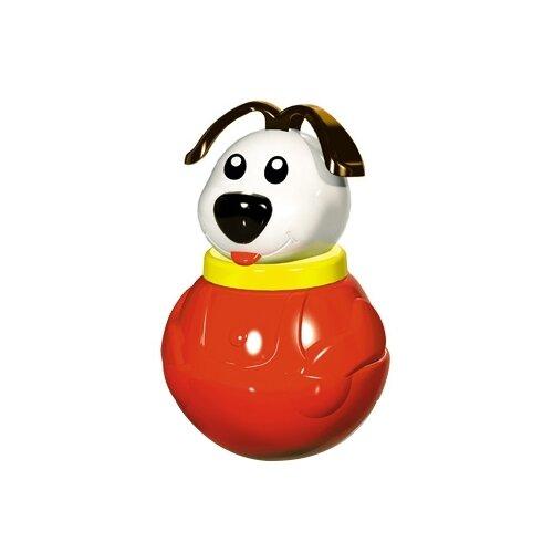 Купить Неваляшка Stellar Пес Дружок, упаковка пакет (01691) 18 см красный/белый, Неваляшки