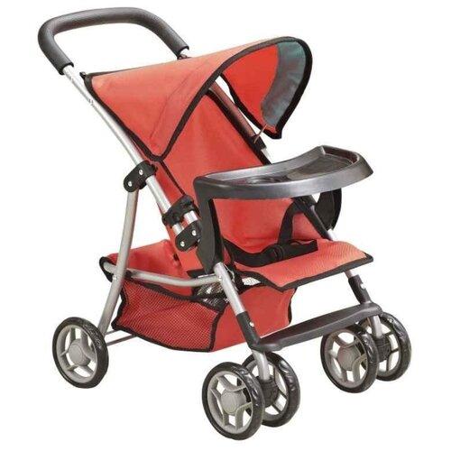 Прогулочная коляска Buggy Boom Skayna (8231) красный/бирюзовыйКоляски для кукол<br>